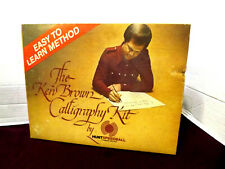 Ken Brown Calligraphy Kit #3078 By Hunt Speedball Complete in Retail Box 4 Nibs