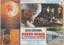 FOTOBUSTA 3, DERSU UZALA, AKIRA KUROSAWA, MUNZUK, URSS, JAPAN, POSTER AFFICHE