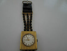 vintage ladies  edox , mechanical watch, running,,fancy strap