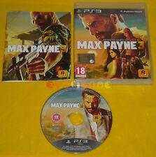 MAX PAYNE 3 Ps3 Versione Ufficiale Italiana 1ª Edizione »»»»» COMPLETO