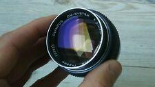 Olympus Zuiko 85mm f2 OM mount portrait lens