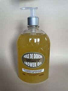 L'Occitane  Shower Oil With Almond Oil Cleansing And Softening 500ml.