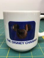 Vintage 1980's The Disney Channel Coffee Tea Cup Mug Mickey Ears