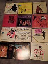 Lot of 12  LP Broadway.
