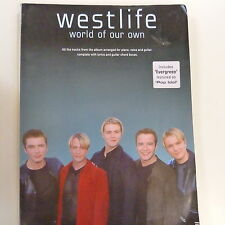 songbook WESTLIFE world of our own, 2002