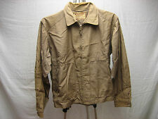Vintage Tan Brown Mc Gregor Drizzler Gravenette Jacket 42 Washable Made in USA