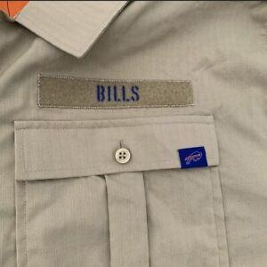 Nike Salute to Service Buffalo Bills Button-Up Shirt AT6763-297 Size 3XL NWT $90
