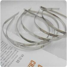 50 Blank Plain metal DIY Headband Hair Band accessory craft fascinator wholesale