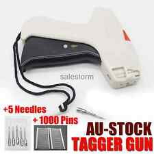 Clothing Garment Price Label Machine Tagging Tag Clothes Gun 5 Needles 1000 barb
