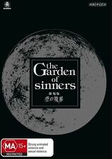The Garden Of Sinners (DVD, 2013, 8-Disc Set) Limited Edition Region 4 Brand New