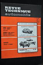 Revue technique automobile toyota celica et carina n° 383