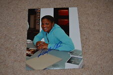 LAILA ALI signed Autogramm In Person 20x25 cm MUHAMMAD ALI Tochter