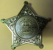 Vintage COOK COUNTY  Illinois JUNIOR POLICE Child's Badge