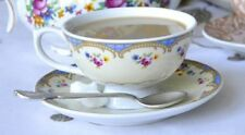 Vintage/Retro Floral Coffee Cup and Saucer Sets