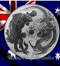 2018 Dragon & Tiger 1 oz Silver Coin Australia Perth Mint after Dragon & Phoenix