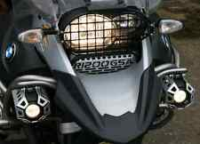 Rugged Roads - BMW R1200GSA - Silver Oil Cooler Guard With GSA Logo - 1014