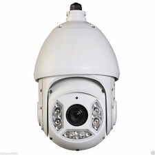 30X Optical Zoom 2MP IP Network Megapixel PTZ Camera 250' IR 4.3-129mm Lens