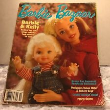 Barbie Bazaar Magazine Doll October 1998 Kelly Crafty Hats Price Guide