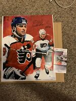 ERIC LINDROS Signed Autograph PHILADELPHIA FLYERS 11X14 photo W/ Jsa Hof 16 Auto