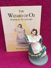 WIZARD OF OZ -Franklin MINT Figure - Munchkin Woman w/ Card