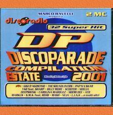"COMPILATION DISCORADIO DISCOPARADE ESTATE 2001 "" DOPPIA MUSICASSETTA SIGILLATA"