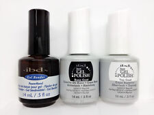 IBD Just Gel Polish-Nail Polish 3pc kit- Power Bond, Base & Top Coat 0.5oz/14ml