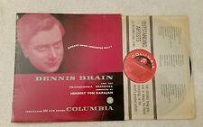 Mozart concerti per corno 1-4 - Dennis CERVELLO/Von Karajan (Columbia 33CX 1140) Regno Unito