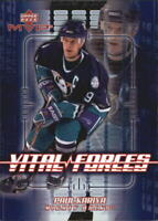2002-03 Upper Deck MVP Vital Forces #VF1 Paul Kariya - NM-MT