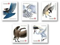 OWL = CRANE = CHICKADEE = JAY = GOOSE = Q.P. DIE CUT set 5 Birds of Canada 2018