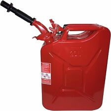 New NATO by Wavian Steel Jerry Can - RED WITH Nozzle. The only real one!