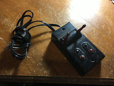 LIONEL 1121c dual controller with new wiring red handles