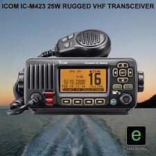 ICOM IC-M423 25W RUGGED MARINE WATERPROOF VHF MOBILE TRANSCEIVER