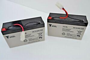 Genuine Technicat/Microcat Bait Boat Extra Heavy Duty Batteries   SRP £59