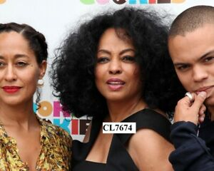 Diana Ross, Tracee Ellis Ross and Evan Ross at Books and Cookies Grand Opening