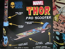 THE MIGHTY THOR MADD GEAR MARVEL THOR PRO SCOOTER 8+ YEARS NEW RRP $170
