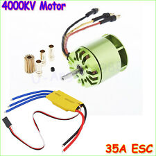 4000KV Brushless Motor For All ALIGN TREX T-rex 450 & 30A ESC For Rc Helicopter