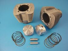 88  Evolution Big Bore Cylinder Kit Silver For Harley-Davidson
