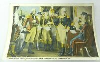 Postcard Washington Declining Overtures from Cornwallis Yorktown VA
