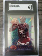 🔥 Michael Jordan 🔥 1994-95 Topps Finest #331 SGC 6 The 🐐! No Coating