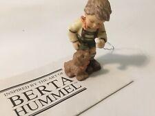 Goebel Berta Hummel Christmas Ornament Boy With Dog Ice Cream