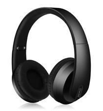 AV: LINK 100.560 satinato Bluetooth 4.2 Cuffie con Dynamic Bass-Nero