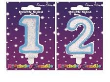 Happy Birthday Candle Number 1 2 1st 2nd First Second Birthday Party Cake Decor