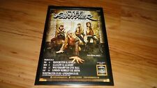 STEEL PANTHER 2015 tour-framed original press release promo advert