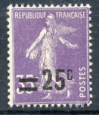 STAMP / TIMBRE DE FRANCE NEUF N° 218 ** SEMEUSE SURCHARGEE
