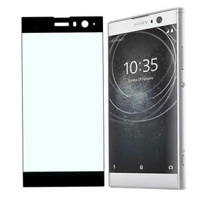 Tempered Glass Protection Sony XA2 Film Curved (Black)