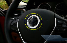 For BMW X6 E71 Steering Wheel Central Mark Ring Cover Trim Silver 2008-2014