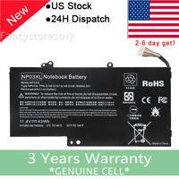 For HP NP03XL ENVY X360 15-U011DX Battery 43WH 761230-005 HSTNN-LB6L NEW