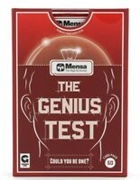 Ginger Fox Mensa - The Genius Test Card Game Christmas Gift ⚡Fast Dispatch⚡