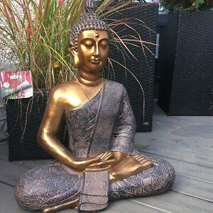 XXXL 65cm Buddha Budda Skulptur Groß Garten Outdoor Figur Budda Thai Statue XL