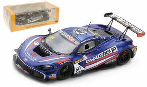 Spark AS045 McLaren 720S GT3 '59/EMA Racing' 2nd Bathurst 12H 2020 - 1/43 Scale